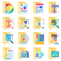 Creative-Process icon library