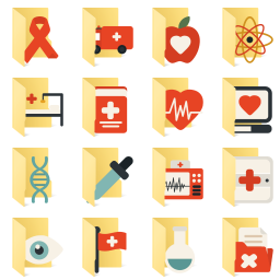 Medical-Elements icon library
