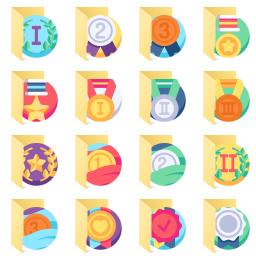 Reward-Badges icon library